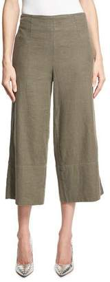 Robert Rodriguez Casual Gaucho Pants, Olive $295 thestylecure.com