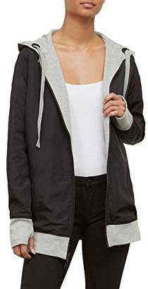 Kenneth Cole Women's Reversible Outerwear Hoodie