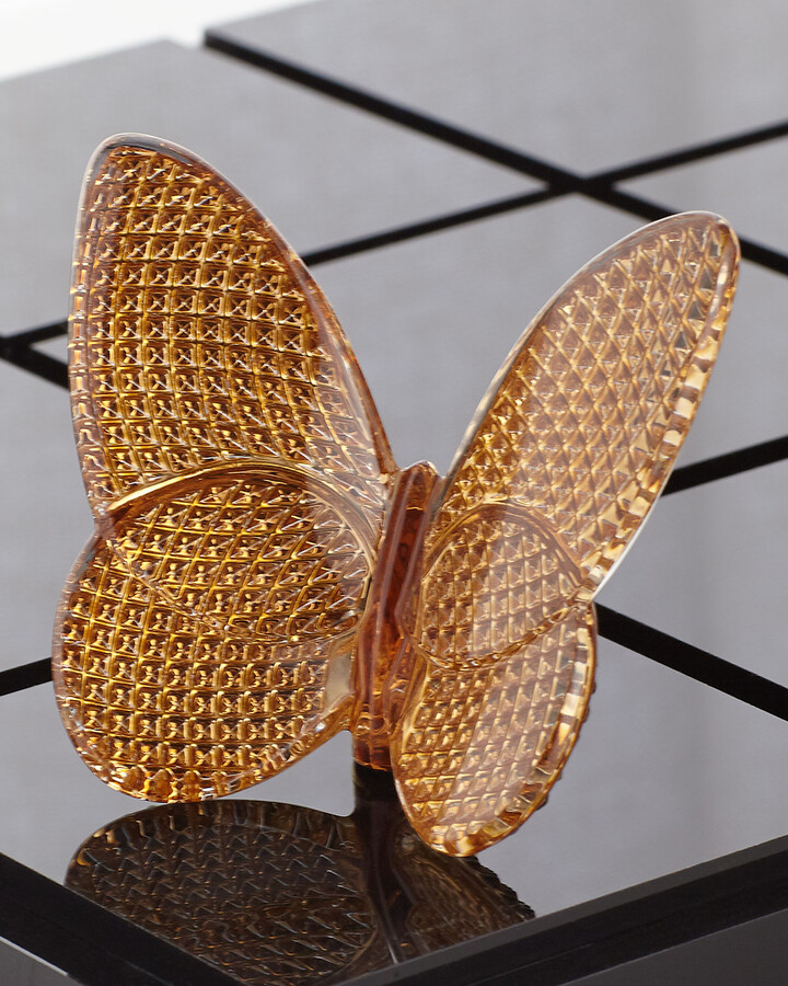 Baccarat 20K Gold Diamant Lucky Butterfly