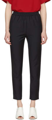 Harmony Navy Plume Trousers