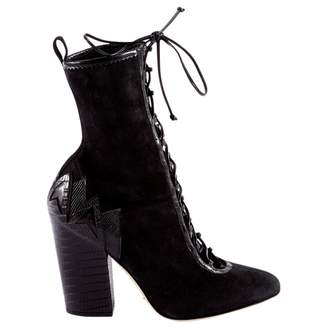 Sergio Rossi Lace up boots