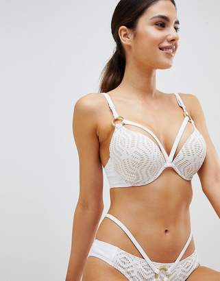 Ann Summers Aroa White Bikini Top
