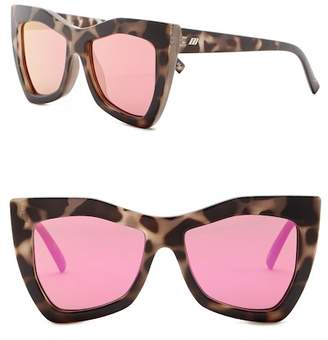 Le Specs Women's 54mm Kick It Butterfly Sunglasses