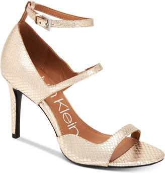 Calvin Klein Women's Nadeen Strappy Sandals Women's Shoes