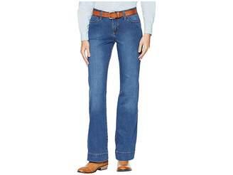 Wrangler Retro Mid-Rise Wide Leg Jeans