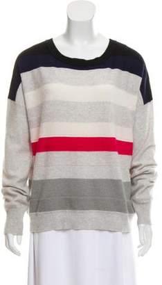Diane von Furstenberg Colorblock Cashmere Sweater