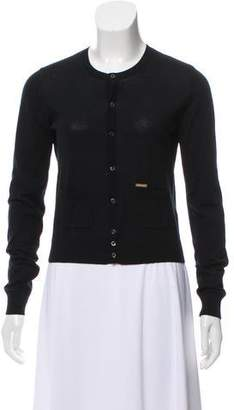 DSQUARED2 Wool Button-Up Cardigan