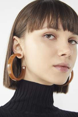 Urban Outfitters Joie Oversized Resin Hoop Earring