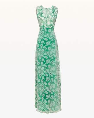 Juicy Couture Washed Daisy Sleeveless Maxi Dress