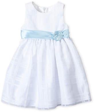 American Princess (Toddler Girls) Satin Sash Tank Dress