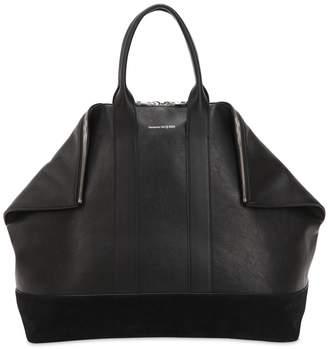 Alexander McQueen East West Leather Bag