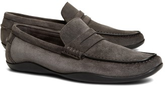 Brooks Brothers Harrys Of London Suede Basel Loafers