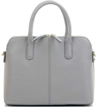 3ba8fdc792e at Amazon Canada · Primo Sacchi® Italian Textured Black and Cream Leather  Hand Made Bowling Style Tote Grab Bag