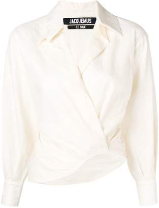 Jacquemus layered effect shirt