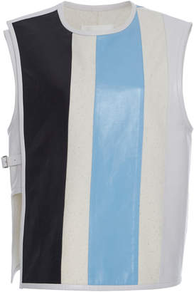 Jil Sander Lyle Wrap Wool-Blend Vest