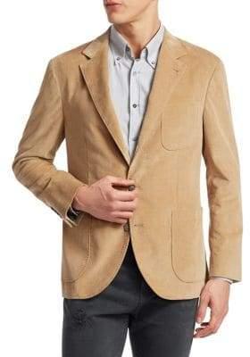 Brunello Cucinelli Corduroy Blazer Jacket