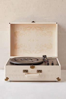Crosley X UO Floral Embossed AV Room Portable USB Vinyl Record Player