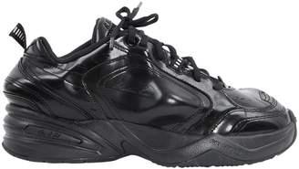 Nike Monarch Black Rubber Trainers