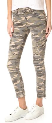 True Religion Halle Mid Rise Cargo Pants $199 thestylecure.com