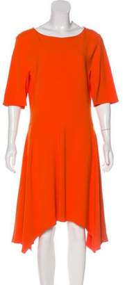 Stella McCartney Short Sleeve Midi Dress Short Sleeve Midi Dress