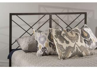 Hillsdale Furniture Westlake Metal Headboard, Multiple Sizes, Pewter Finish
