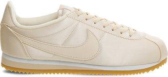 Nike Cortez satin trainers