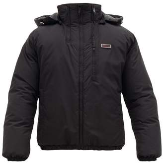 Givenchy Hooded Padded Jacket - Mens - Black