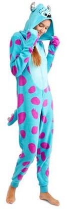 Disney Monsters, Inc Women's and Women's Plus Sulley Union Suit