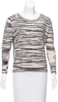 White + Warren Cashmere Patterned Sweater