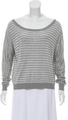 Haute Hippie Long Sleeve Knit Sweater