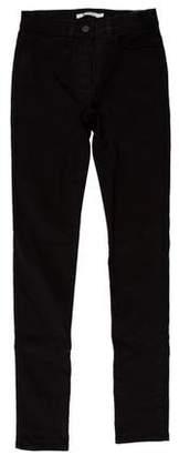 Alexander Wang Skinny Mid-Rise Jeans