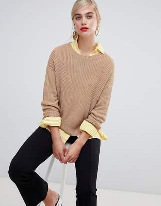 Stradivarius Basic knitted jumper