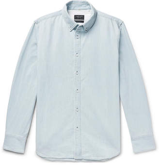 Rag & Bone Fit 3 Button-Down Collar Denim Shirt