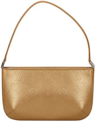 Louis Vuitton Vintage Gold Patent leather Handbag