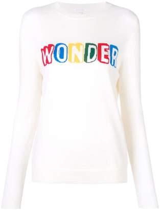 Parker Chinti & slogan long-sleeve sweater