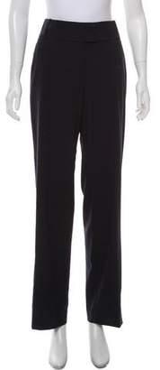 Giorgio Armani Virgin Wool Wide-Leg Pants
