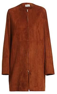 The Row Women's Anka Suede Coat
