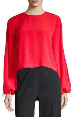 Robert Rodriguez Ruffle Back Top