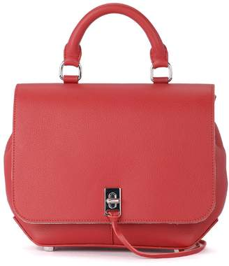 Rebecca Minkoff Dareen Red Leather Backpack
