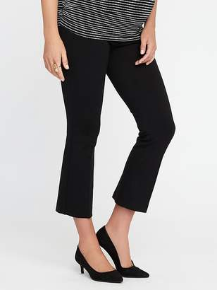 Old Navy Maternity Side-Panel Built-In Sculpt Pixie Pants