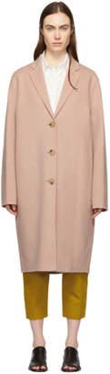 Acne Studios Pink Avalon Double Coat