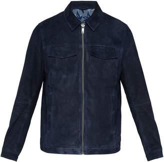 Ted Baker Men's Nusuede Suede Harrington Jacket