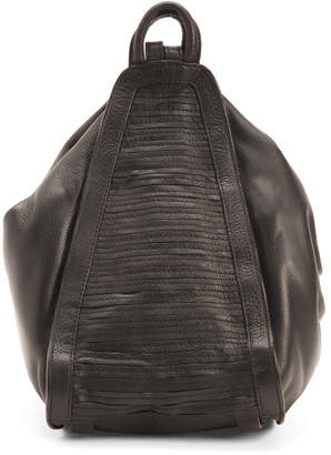 Convertible Leather Calabasa Backpack