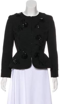 Oscar de la Renta 2016 Embellished Jacket w/ Tags