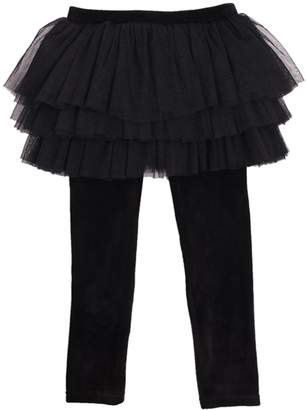 Rock Your Baby Velvet Circus Tights
