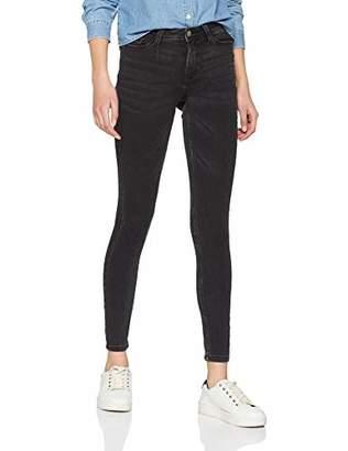 Jacqueline De Yong NOS Women's Jdyjake Skinny Rw DNM Noos Jeans, Black Denim, (Size: 25)
