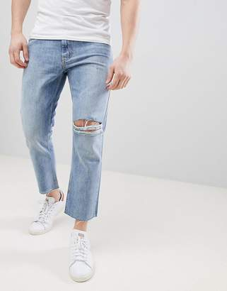 Just Junkies 90's Fit Cropped Jeans