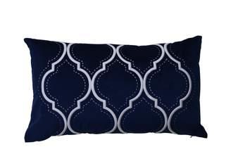 MONICA Theo & Joe Santa Navy Cushion