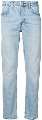 Levi's distressed slim tapered jeans