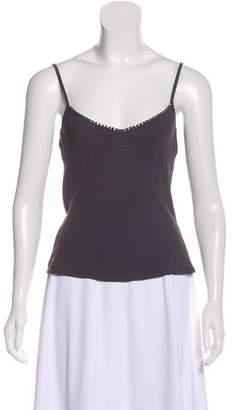 Temperley London Sleeveless Silk Top